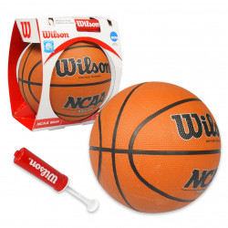 """Wilson Basketball,28.5"""" RUBBER with Inflation Pump & Needle"""