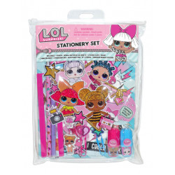 LOL Surprise 12 Stationery Set in PVC Pouch