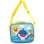 Baby Shark Lunch Bag with Strap, 21 cm