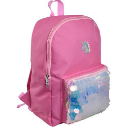 Backpack Unicorn with Large Sequins, 41 cm
