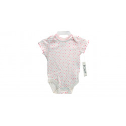 Newborn Short Sleeve Bodysuit For Girls