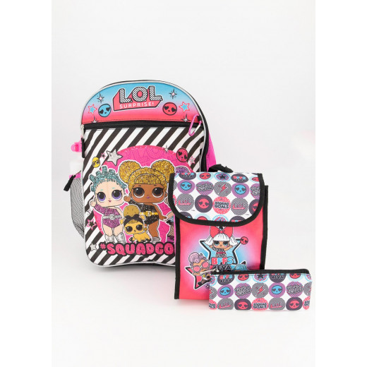 LOL Backpack 5 Pieces, 41 cm