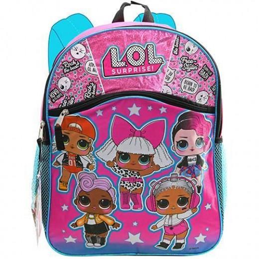 LOL Surprise Backpack, 41 cm