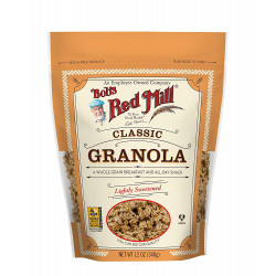 Bob's Red Mill Granola Natural Lightly Sweetened 340g