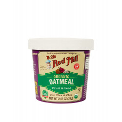 Bob's Red Mill Organic Oatmeal Cup with Fruits & Seed, 70 g