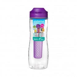 Sistema Hydrate Tritan Fruit Infuser Bottle-800 ml, Purple
