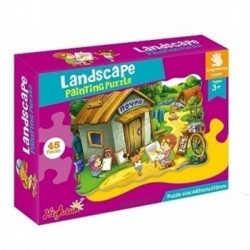 Landscape Educational Jigsaw Puzzle 45 Pieces