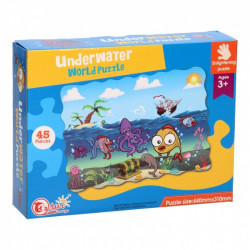 Underwater World Puzzle 45 Pieces