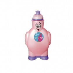 Sistema Happy Bottle, 350 ml, Baby Pink