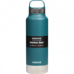 Sistema 1 Liter Stainless Steel - Dark Green