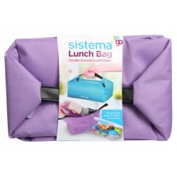 Sistema Bento Lunch Bag To Go - Purple