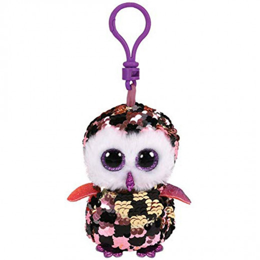 Ty Checks Flippable Clip Sequin Plush , 7.5 cm