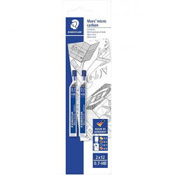 Staedtler Mars Micro Refill Lead 0.7 mm, HB, Pack of 2