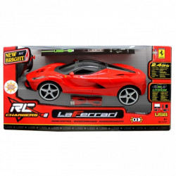 New Bright Full Function RC Chargers - La Ferrari - Red 1:12