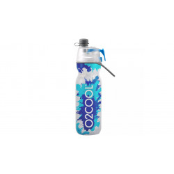 O2COOl Mist 'N Sip Locking Lid Water Bottle - Blue Splash,  590 ml