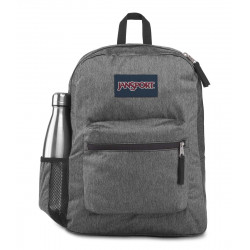 JanSport Cross Town Remix Backpack, Black White Herringbone