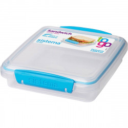Sistema Sandwich Box To Go 450ml, Blue