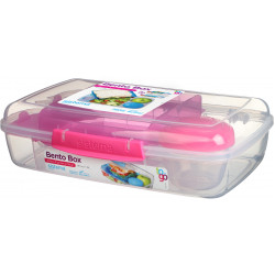 Sistema Bento Lunch TO GO 1.76L, Pink