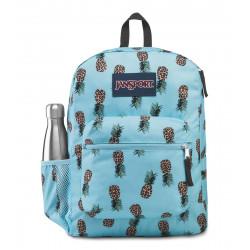 JanSport Cross Town Backpack, Leopard Pineapples