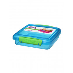 Sistema Lunch Sandwich Box, 450 ml, Blue