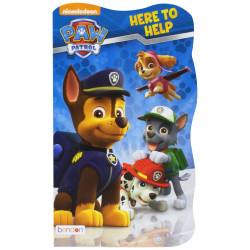 Early Reading Paw Patrol Board Book, Here to Help