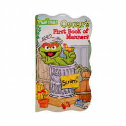 Sesame Street Board Book, Oscar's First Book of Manners