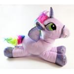 "Sparkle Club, Small Unicorn Plush Pillow 9.8"", Purble"