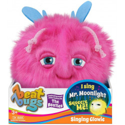 Beat Bugs Glowie Blue Plush, Pink