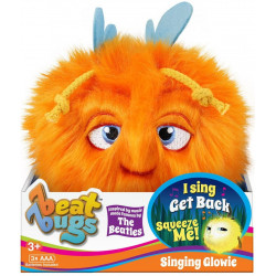 Beat Bugs Glowie Blue Plush, Orange