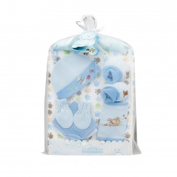 Little Mimos Baby Gift Set 9 Pieces, Blue