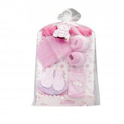 Little Mimos Baby Gift Set 9 Pieces, Pink