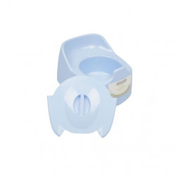 Plastic Potty Chair, Blue