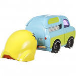 Disney Pixar Toy Story 4 Hot Wheels Character Cars - Ducky and Bunny