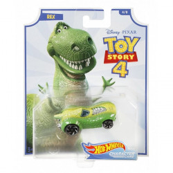 Disney Pixar Toy Story 4 Hot Wheels Character Cars - Rex