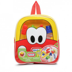 Little Tikes Dough Activity Backpack 11 Inch, Red
