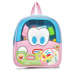 Little Tikes Dough Activity Backpack 11 Inch, Blue