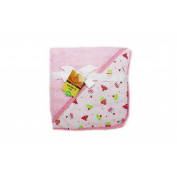 Carter's Baby Hooded Towel, Pink