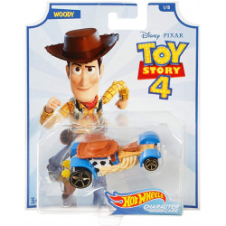 Disney Pixar Toy Story 4 Hot Wheels Character Cars - Woody