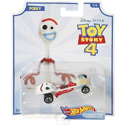 Disney Pixar Toy Story 4 Hot Wheels Character Cars - Forky