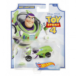 Disney Pixar Toy Story 4 Hot Wheels Character Cars - Buzz Lightyear