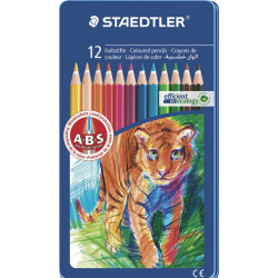 Staedtler Noris 145 Club Colouring Pencil in Metal Tin,12 Pack