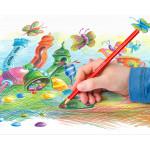 Staedtler Noris Club 144 Erasable Colored Pencils, Pack of 12