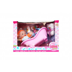 Bath Time Baby Doll Super Set