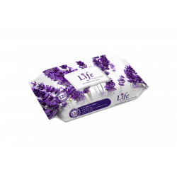 Life Wet Wipes 120 Sheets, Fresh Lavender