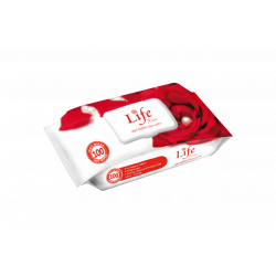 Life Wet Wipes 120 Sheets, Rose