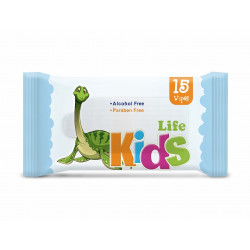 Life Baby Wet Wipes, 15 Sheets