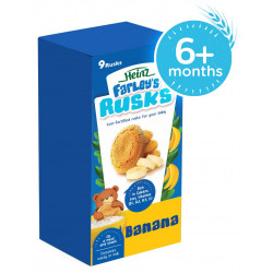 Heinz -Farleys Banana Rusks, 150 g