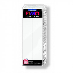 Staedtler Fimo Professional Soft Polymer Clay Large Block 350 g, White