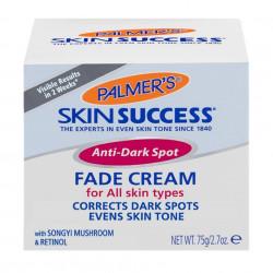 Palmer's Skin Success Anti-Dark Spot Fade Cream For all Skin Types with Songyi Mushroom& Retinol, 2.7 oz