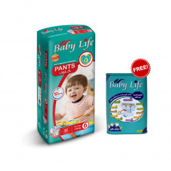 Baby Life Pants Size 6, +18 kg ,32 Diapers